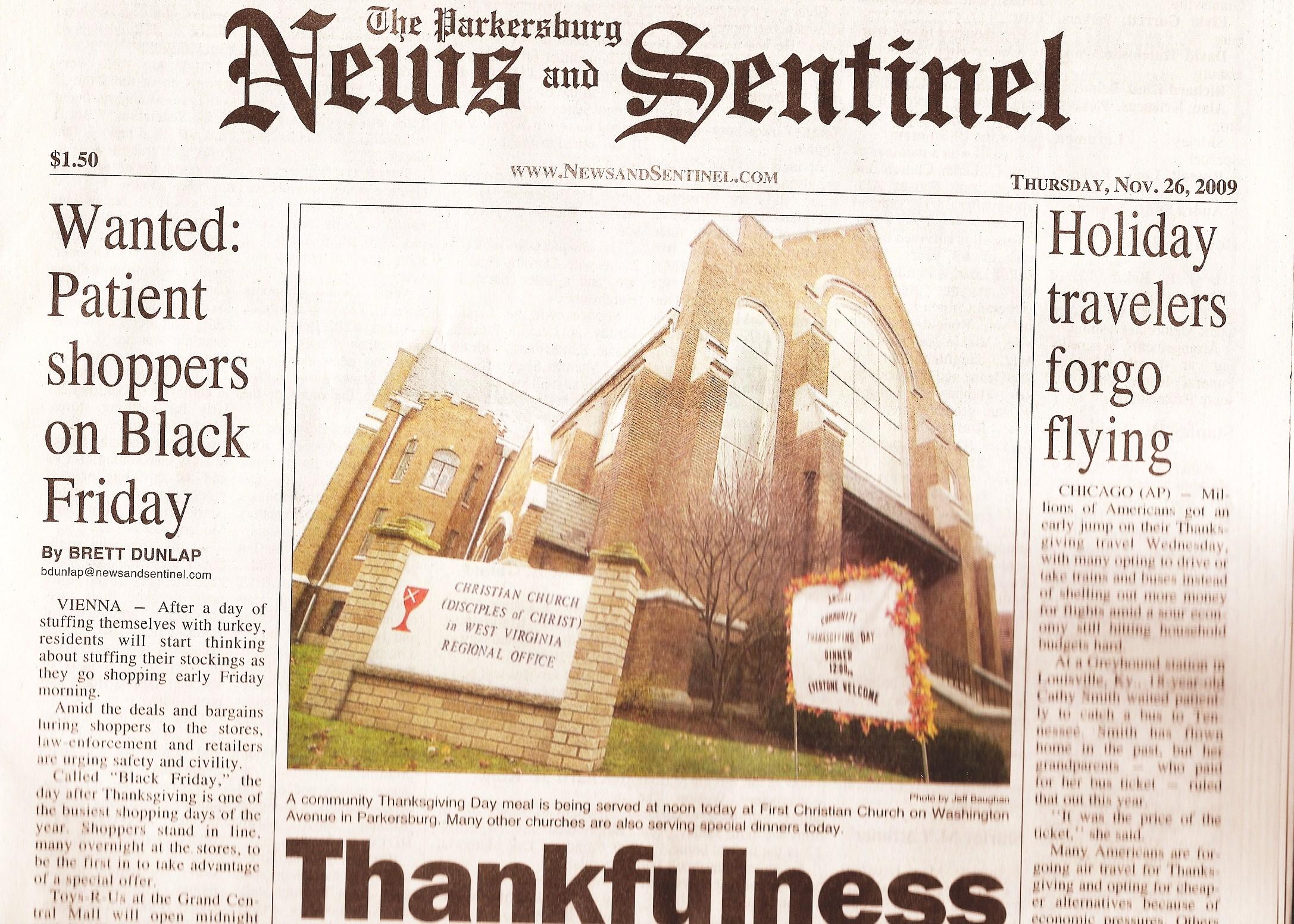 parkersburg news